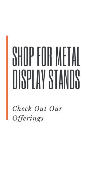 Shop metal display stands